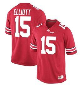 Nike Ohio State University #15 Ezekiel Elliott Players Jersey