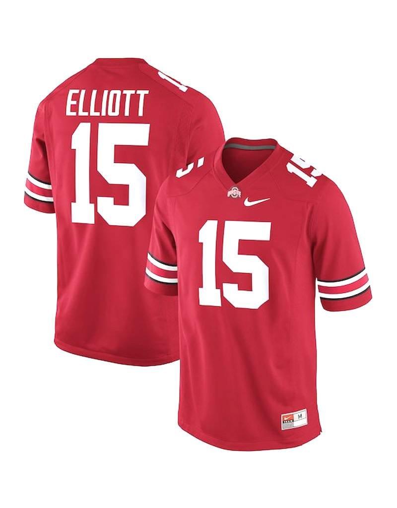 ... Nike Ohio State University  15 Ezekiel Elliott Players Jersey f347d0d97