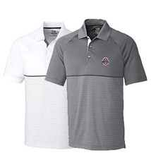 Cutter & Buck Ohio State University Junction Stripe Polo