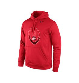 Nike Ohio State University Football Icon Hoodie