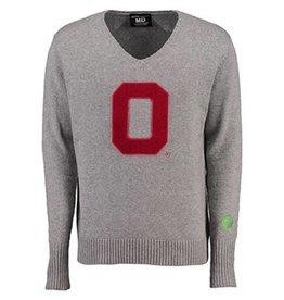 Ohio State University Letterman V-Neck Sweater