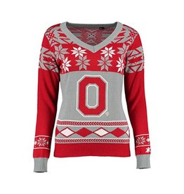 Ohio State University Women's Ugly Sweater