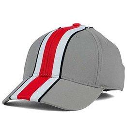 Top of the World Ohio State University Striped Helmet Cap