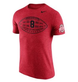 Nike Ohio State University Tri-Blend Moment Tee