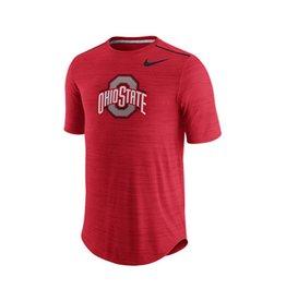 Nike Ohio State University Short Sleeve Player Top