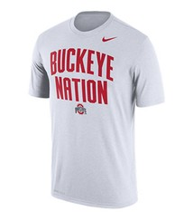 Nike Ohio State University Buckeye Nation Dri-FIT Tee