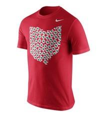 Nike Ohio State University Rewards Leaf Ohio Tee