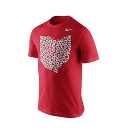 Nike Ohio State University Rewards Leaf Ohio Tee