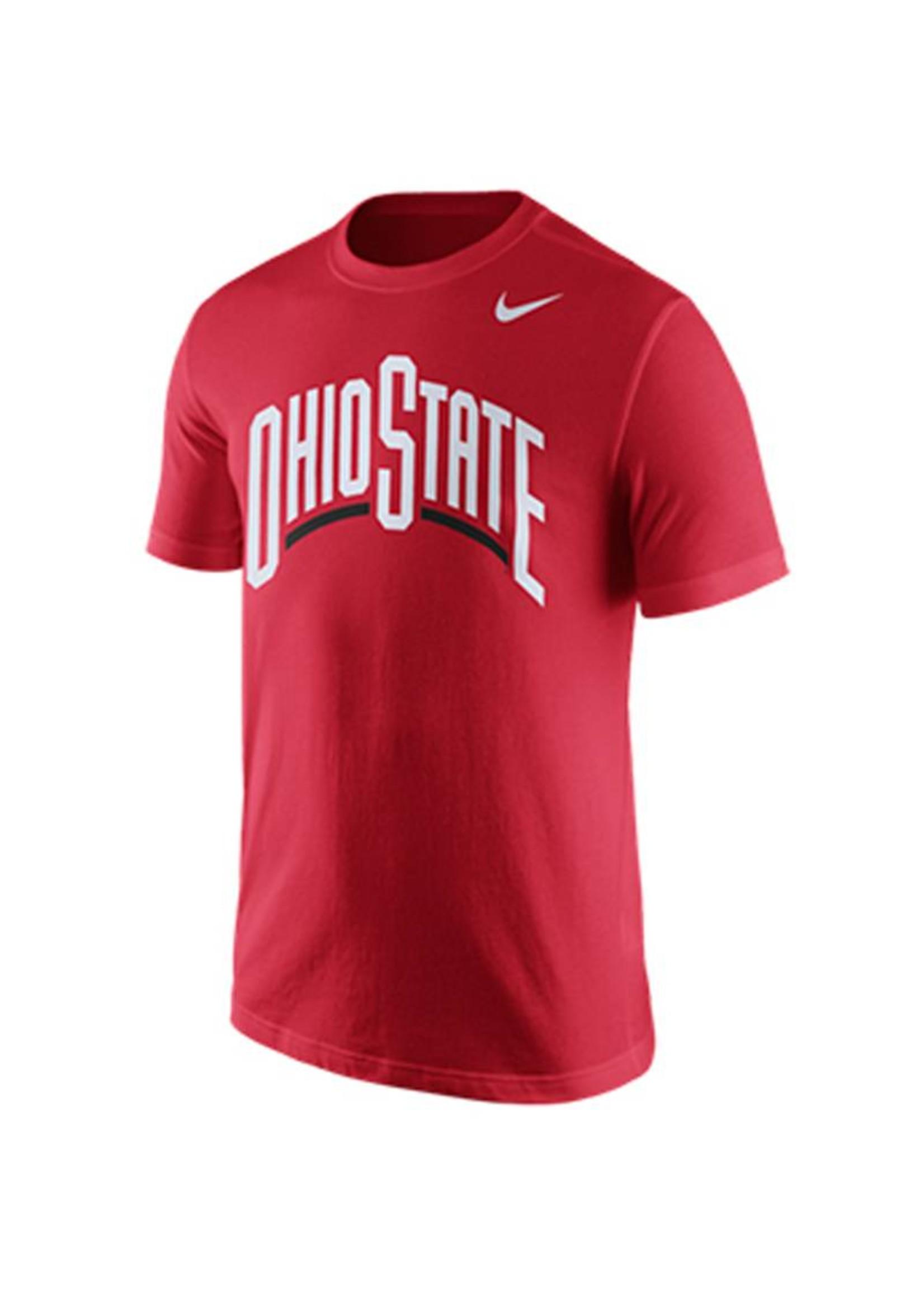 Nike Ohio State University Arch Wordmark Tee