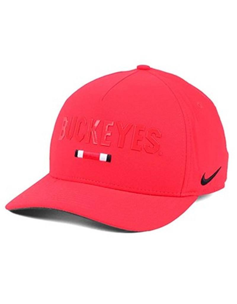 buy online a5464 b5eec ... buy nike ohio state buckeyes nike summer swoosh flex cap 08a05 7739d