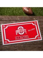 Ohio State Buckeyes Embossed Doormat
