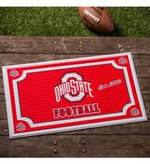 Ohio State Embossed Doormat