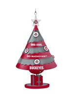Ohio State University Tree Shaped Bell Ornament