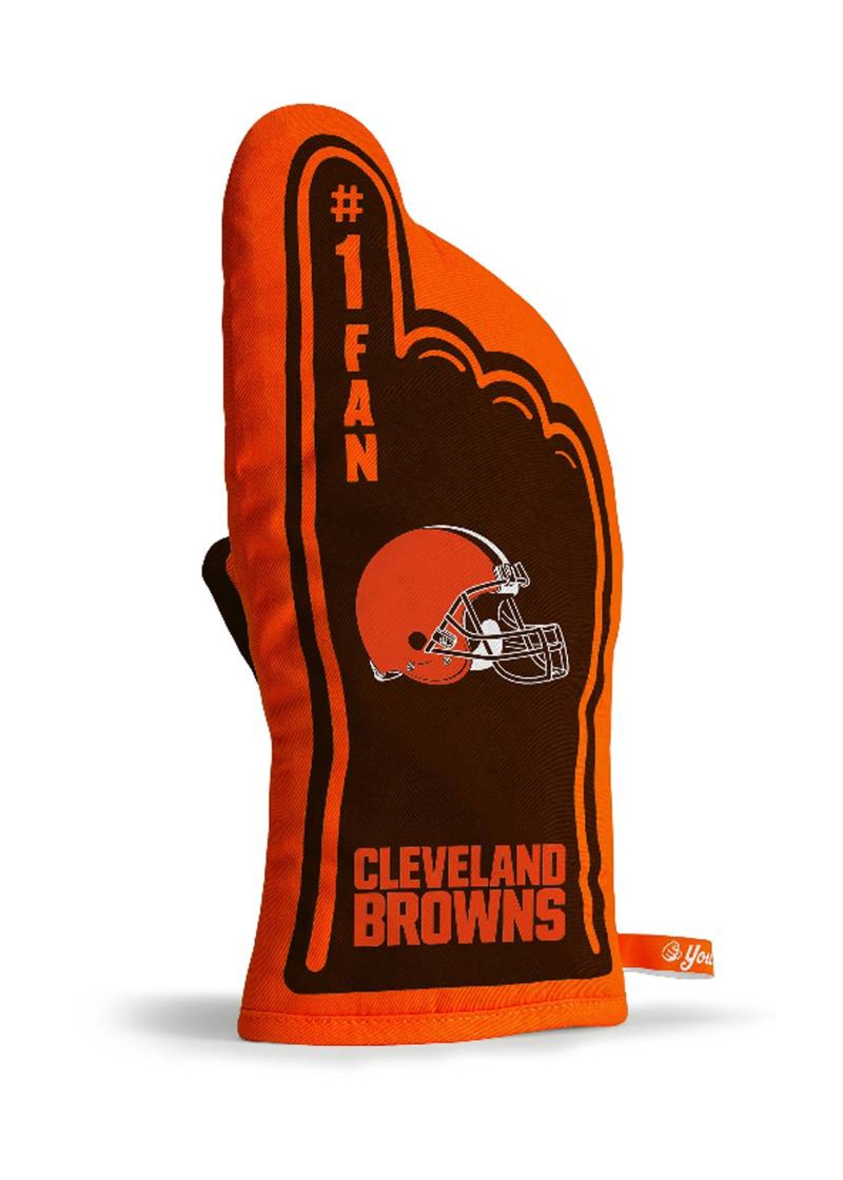 Cleveland Browns #1 Oven Mitt