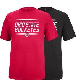 Top of the World Ohio State University Stripe Vital Polyester Tee