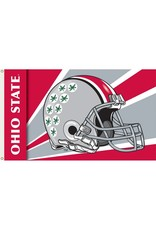Ohio State Helmet 3'x5' Flag