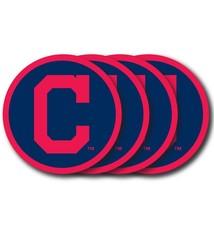 Cleveland Indians Vinyl Coasters 4 Pack