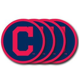 Cleveland Indians Vinyl Coasters 4 Pack