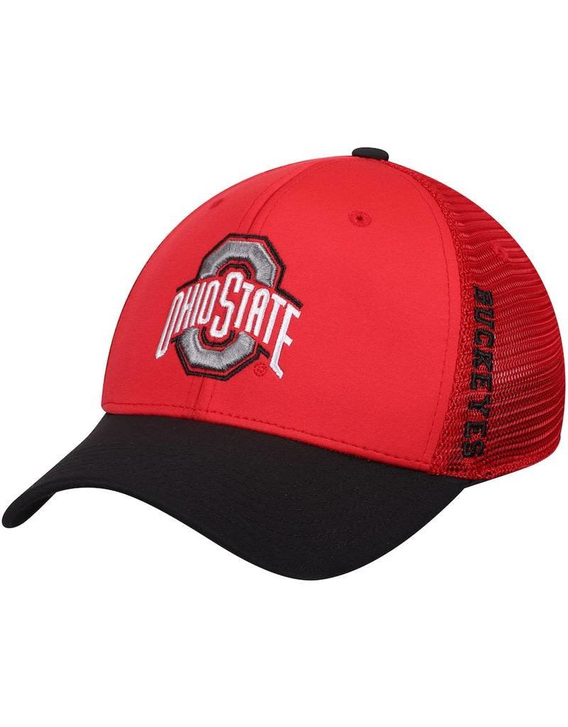 Top of the World Ohio State University Chatter Meshback Flex Hat - M/L