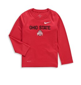 Nike Ohio State Buckeyes Nike Toddler Legend Performance Long Sleeve
