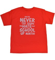 "Ohio State Youth ""Never Too Young"" Tee"
