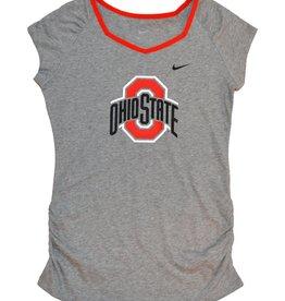 Nike Ohio State Girls Raglan V Top Tee