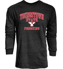 Youngstown State Penguins Triblend Mens L/S Shirt