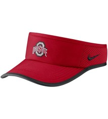 Nike Ohio State Buckeyes Nike Featherlight Performance Visor