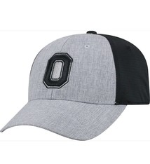 Top of the World Ohio State Buckeyes Grey/Black Faboo 1Fit Hat