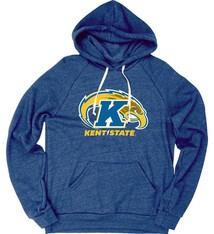 Kent State University Raglan Fleece Hoodie