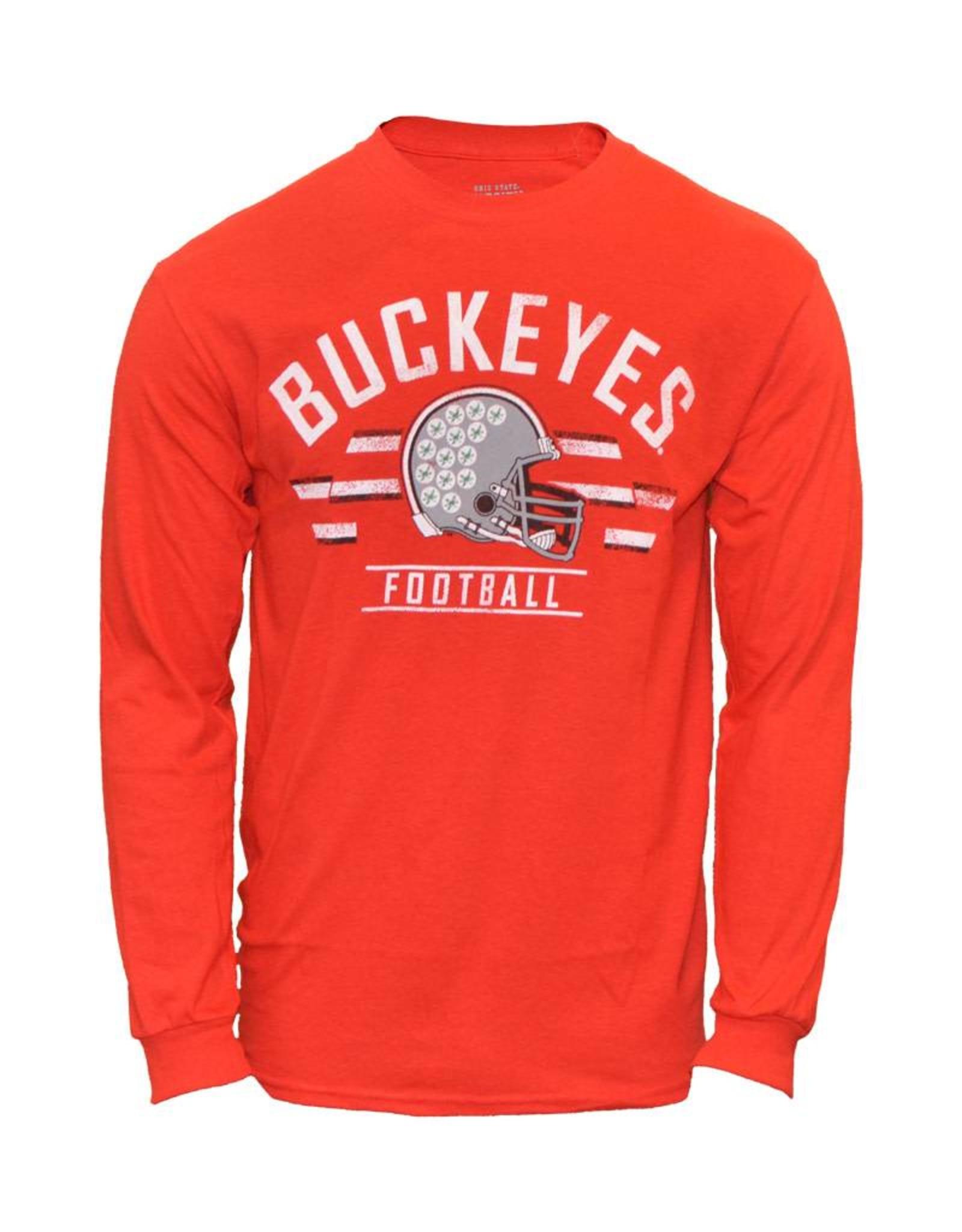 Distressed Cleveland Ohio Sunday Football Shield Tailgater Sweatshirt