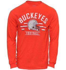 Top of the World Ohio State Buckeyes Helmet Long Sleeve T-Shirt
