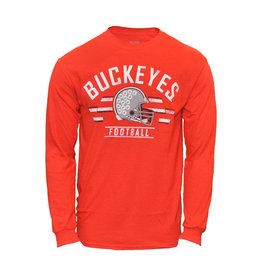 Top of the World Ohio State Buckeyes Helmet Long Sleeve T-Shirt