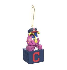 Cleveland Indians Slider Tiki Ornament
