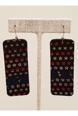 Bar Earrings Stars & Stripes