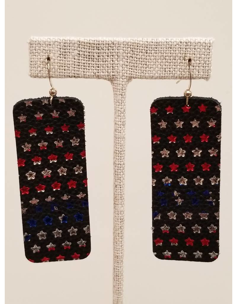 Bar Earrings Stars & Stripes