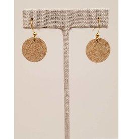 Dew Drops Gold Goddess Earrings