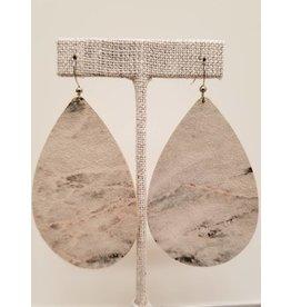 Daring Earrings Marble