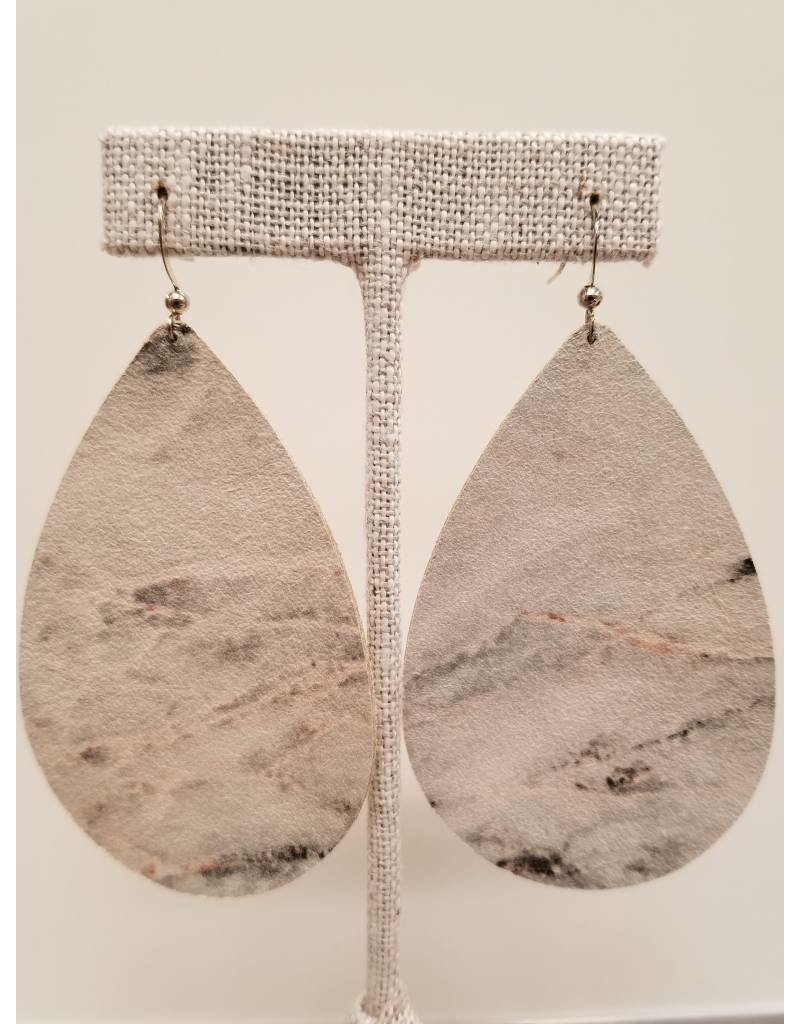 Daring Earrings Marble