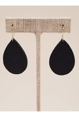 Dainty Earring Saffiano Navy