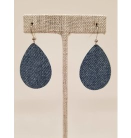Dainty Denim Earrings