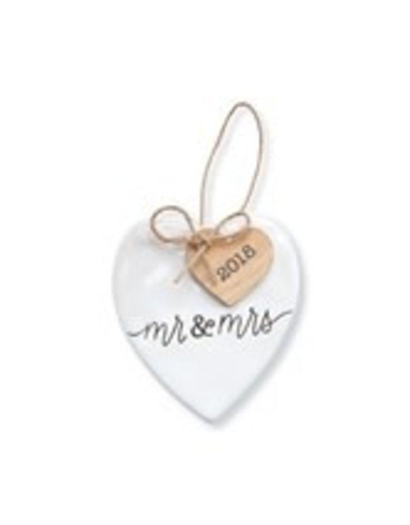 2018 Mr. & Mrs. Ornament