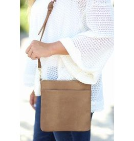 Kinzley Crossbody Textured Khaki