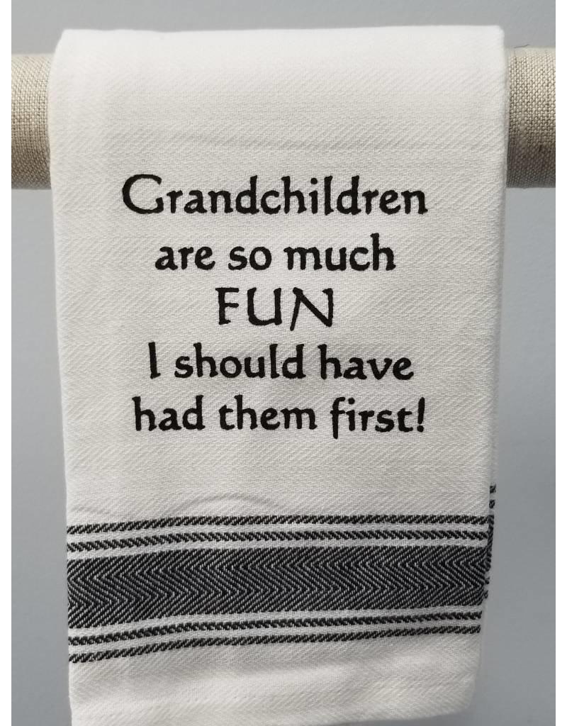 Grandchildren are so Much Fun Towel