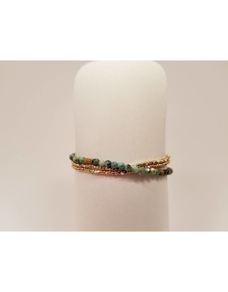 Delicate African Turquoise - Transformation