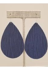 Daring Earrings Cobalt Blue Sugarcane