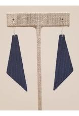 Dream Earrings Cobalt Blue SugarCane