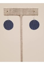 Dew Drop Earrings Cobalt Blue SugarCane