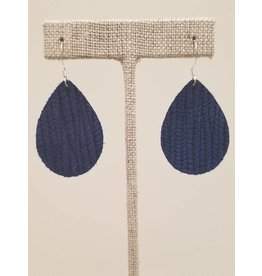 Dainty Earrings Cobalt Blue SugarCane