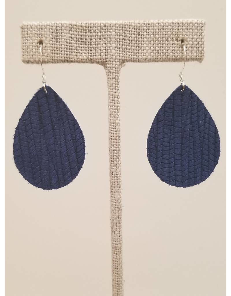 Dainty Earrings Cobalt Blue SugarCane
